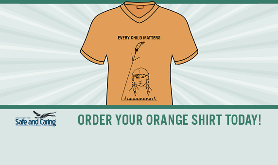 Get your orange shirt today!